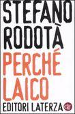 Copertina dell'audiolibro Perché laico di RODOTÀ, Stefano