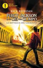 Copertina dell'audiolibro Percy Jackson e gli dei dell'Olimpo – La battaglia del labirinto vol.4 di RIORDAN, Rick