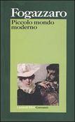 Copertina dell'audiolibro Piccolo mondo moderno di FOGAZZARO, Antonio