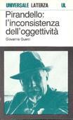 Copertina dell'audiolibro Pirandello: l'inconsistenza dell'oggettività di PIRANDELLO*QUERCI, Giovanna