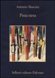 Copertina dell'audiolibro Pista nera di MANZINI, Antonio