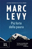 Copertina dell'audiolibro Più forte della paura di LEVY, Marc