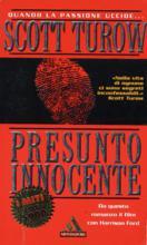 Copertina dell'audiolibro Presunto innocente di TUROW, Scott