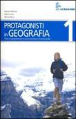 Copertina dell'audiolibro Protagonisti in geografia 1