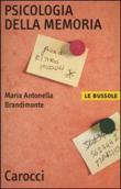 Copertina dell'audiolibro Psicologia della memoria di BRANDIMONTE, Maria Antonella