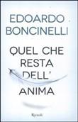 Copertina dell'audiolibro Quel che resta dell'anima di BONCINELLI, Edoardo
