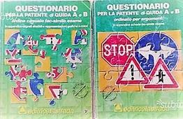 Copertina dell'audiolibro Questionario per la patente di guida A e B di ^QUESTIONARIO...
