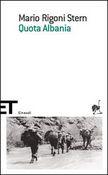 Copertina dell'audiolibro Quota Albania di RIGONI STERN, Mario
