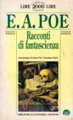 Copertina dell'audiolibro Racconti di fantascienza di POE, Edgar Allan