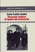 Copertina dell'audiolibro Racconto italiano di ignoto del novecento di GADDA, Carlo Emilio