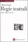 Copertina dell'audiolibro Regie teatrali dalle origini a Brecht