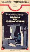 Copertina dell'audiolibro Regola per sopravvivere di MATHESON, Richard