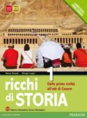 Copertina dell'audiolibro Ricchi di storia 1 di FOSSATI, Marco - LUPPI, Giorgio