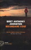 Copertina dell'audiolibro Ricordami così di JOHNSTON, Bret Anthony