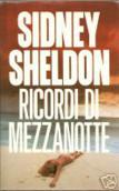 Copertina dell'audiolibro Ricordi di mezzanotte di SHELDON, Sidney
