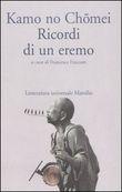 Copertina dell'audiolibro Ricordi di un eremo di KAMO NO, Chomei (Trad. Fraccaro Francesca)