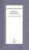 Copertina dell'audiolibro Riflessioni sull'Ebraismo di SOLOVEITCHIK, Joseph B.