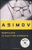 Copertina dell'audiolibro Rompicapo in quattro giornate di ASIMOV, Isaac