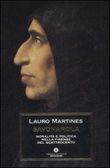 Copertina dell'audiolibro Savonarola di MARTINES, Lauro