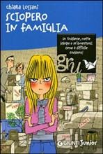 Copertina dell'audiolibro Sciopero in famiglia di LOSSANI, Chiara