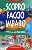Copertina dell'audiolibro Scopro, faccio, imparo 5. Storia – Geografia.