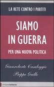 Copertina dell'audiolibro Siamo in guerra di CASALEGGIO, G. - GRILLO, B.