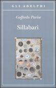 Copertina dell'audiolibro Sillabari di PARISE, Goffredo