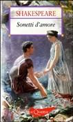 Copertina dell'audiolibro Sonetti d'amore di SHAKESPEARE, William