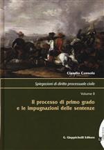 Copertina dell'audiolibro Spiegazioni di diritto processuale civile- Tomo 2°- Il processo di primo grado … di CONSOLO, Claudio