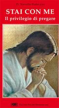 Copertina dell'audiolibro Stai con me: il privilegio di pregare
