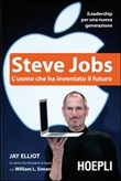 Copertina dell'audiolibro Steve Jobs l'uomo che ha inventato il futuro di ELLIOT, Jay - SIMON, William L.