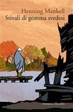 Copertina dell'audiolibro Stivali di gomma svedesi di MANKELL, Henning