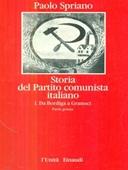 Copertina dell'audiolibro Storia del Partito comunista italiano di SPRIANO, Paolo