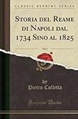 Copertina dell'audiolibro Storia del reame di Napoli   vol. 1 di COLLETTA, Pietro