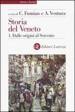 Copertina dell'audiolibro Storia del Veneto vol.1 di FUMIAN, C. - VENTURA, A.