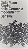Copertina dell'audiolibro Storia della Germania moderna 1789-1958 di MANN, Golo