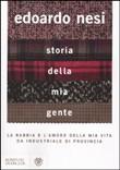 Copertina dell'audiolibro Storia della mia gente di NESI, Edoardo