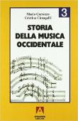Copertina dell'audiolibro Storia della musica occidentale. Vol. 3 di CARROZZO, Mario - CIMAGALLI, Cristina