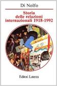 Copertina dell'audiolibro Storia delle relazioni internazionali 1918-1999 di DI NOLFO, Ennio