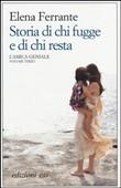 Copertina dell'audiolibro Storia di chi fugge e di chi resta vol. 3 di FERRANTE, Elena