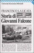 Copertina dell'audiolibro Storia di Giovanni Falcone di LA LICATA, Francesco