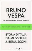 Copertina dell'audiolibro Storia d'Italia da Mussolini a Berlusconi