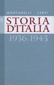 Copertina dell'audiolibro Storia d'Italia. Vol. 8: 1936-1943
