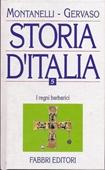 Copertina dell'audiolibro Storia d'Italia –  vol. V di MONTANELLI - GERVASO