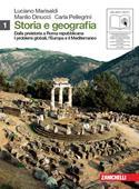 Copertina dell'audiolibro Storia e geografia 1 di MARISALDI, L. - DINUCCI, M. - PELLEGRINI, C.
