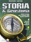 Copertina dell'audiolibro Storia e geostoria 4B – L'Ottocento di GENTILE, Gianni - RONGA, Luigi