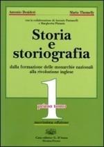 Copertina dell'audiolibro Storia e Storiografia 1 – tomo secondo di DESIDERI, Antonio - THEMELLY, Mario