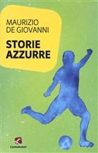 Copertina dell'audiolibro Storie azzurre di de GIOVANNI, Maurizio