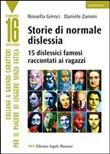 Copertina dell'audiolibro Storie di normale dislessia di GRENCI, ROSSELLA - ZANONI, DANIELE