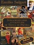 Copertina dell'audiolibro Straordinarie avventure di Testa di Pietra di SALGARI, Emilio